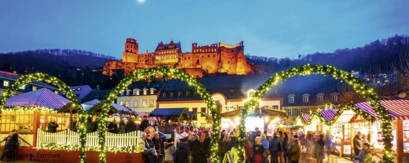 öffnungszeiten Weihnachtsmarkt Heidelberg.Weihnachtsmarkt Heidelberg Und Esslingen Wick Reisen Und